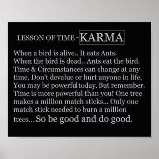 Poster de Time&Karma