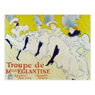 Poster de Toulouse Lautrec Tarjetas Postales