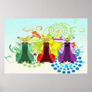 Poster de Tres Reyes Magos/tres hombres sabios