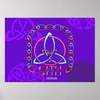 Poster de Triquetra de la paz Póster