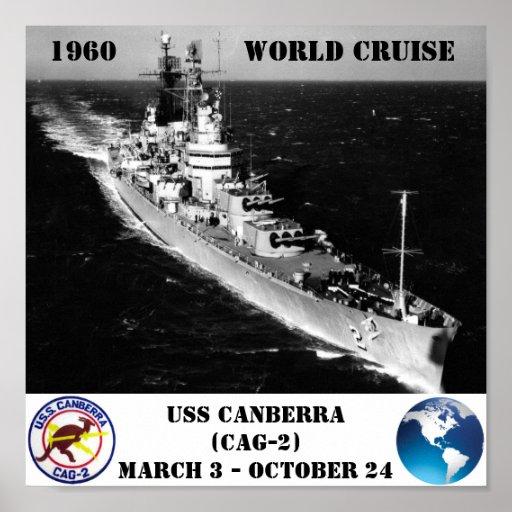 POSTER DE USS CANBERRA (CAG-2)