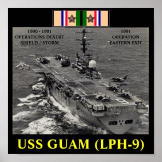 POSTER DE USS GUAM LPH-9