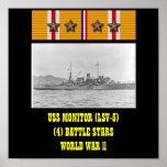 POSTER DE USS MONITOR (LSV-5)