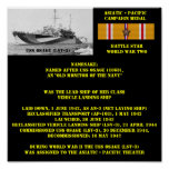 POSTER DE USS OSAGE (LSV-3)