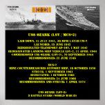 POSTER DE USS OZARK (MCS-2)