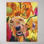 Poster de Van Gogh Airedale