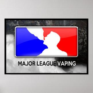 Poster de Vaping de la primera división