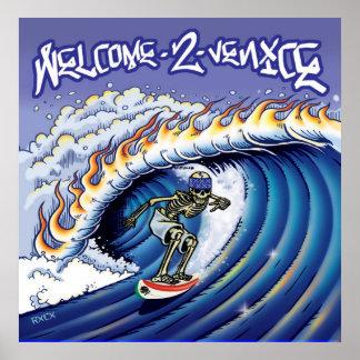 Poster de Venecia de la recepción 2