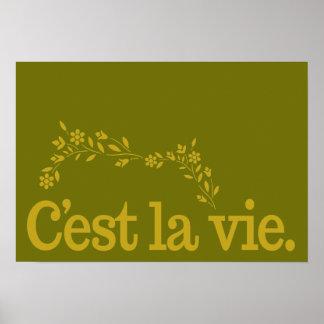 Poster de Viecustom del La de C'est
