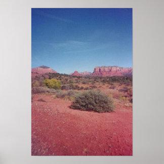 Poster de Vista del desierto