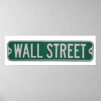 Poster de Wall Street
