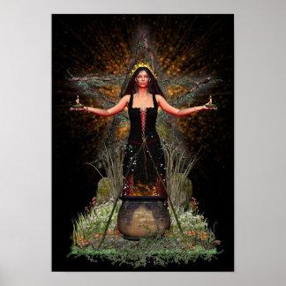 Poster de Wiccan - Spellweaver III [A3]