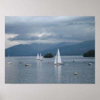 Poster de Windermere del lago