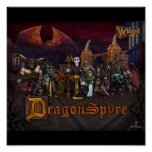 Poster de Wizard101 DragonSpyre