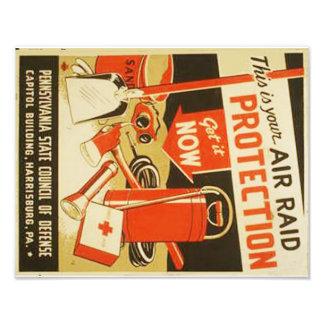Poster de WPA de la defensa de la protección del Cojinete