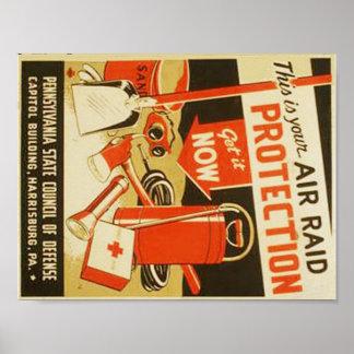 Poster de WPA de la defensa de la protección del Póster