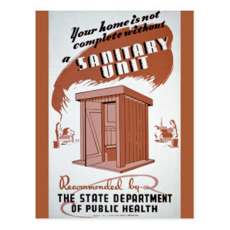 Poster de WPA de la dependencia Postales