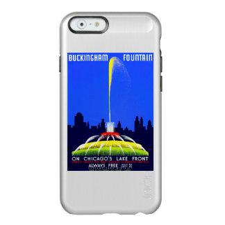 Poster de WPA de la fuente de Buckingham del Funda Para iPhone 6 Plus Incipio Feather Shine