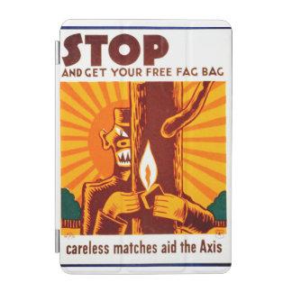 Poster de WPA de la prevención del incendio Cover De iPad Mini