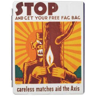 Poster de WPA de la prevención del incendio Cubierta De iPad