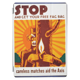 Poster de WPA de la prevención del incendio Cubierta De iPad Air