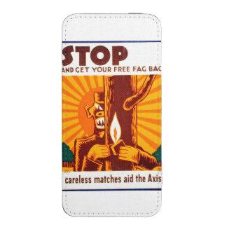 Poster de WPA de la prevención del incendio Funda Para iPhone 5