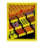 Poster de WPA del almacén de la fruta - Postal