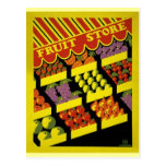 Poster de WPA del almacén de la fruta - Postales