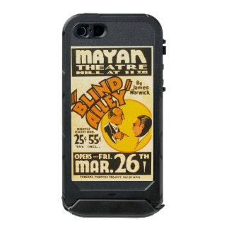 """Poster de WPA del """"callejón ciego"""" de las artes Funda Para iPhone 5 Incipio ATLAS ID"""