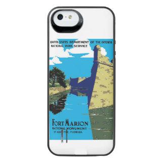 Poster de WPA del monumento nacional de Marion del Funda Power Gallery™ Para iPhone 5 De Uncommon