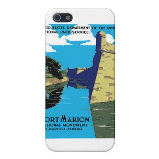 Poster de WPA del monumento nacional de Marion del iPhone 5 Carcasa