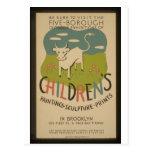 Poster de WPA del vintage - retro a 1941 Postal