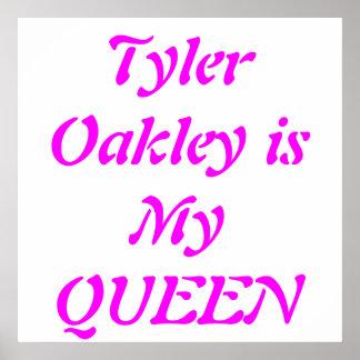 Poster de Youtuber Tyler Oakley