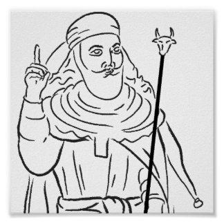 Poster de Zarathustra del profeta