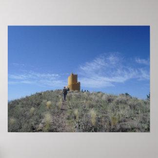 Poster de Ziggurat Crestone Colorado