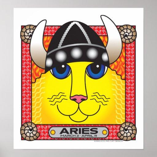 Poster de Zodicat del aries