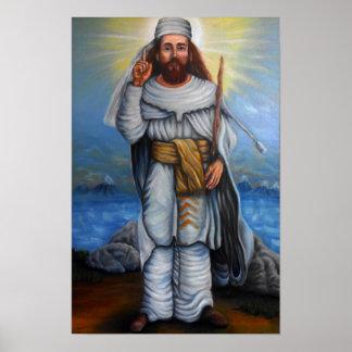 Poster de Zoroaster del profeta