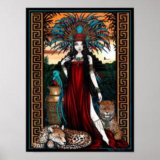 Poster de Zyanya de la sacerdotisa del quetzal de  Póster