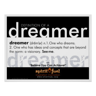Poster Definition - Dreamer