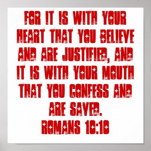 POSTER del 10:10 de los romanos