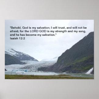 Poster del 12:2 de Isaías