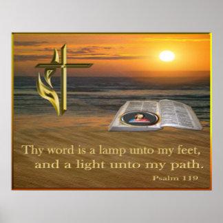 Poster del 1:19 del salmo