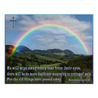 Poster del 21:4 de la escritura de las