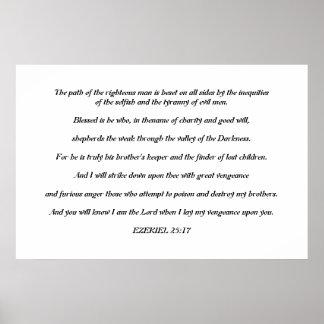 Poster del 25 17 de Ezekiel