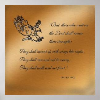 Poster del 40:31 de Isaías
