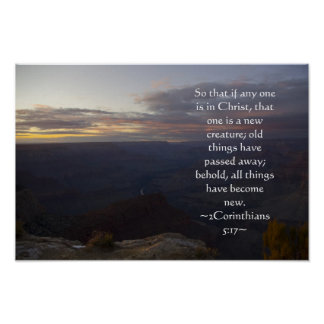 Poster del 5:17 de 2 Corinthians