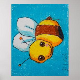 Poster del abejorro de Dina