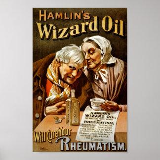 Poster del aceite del mago de Hamlin