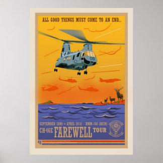 Poster del adiós CH-46