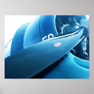 Poster del aeroplano
